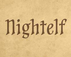 Nightelf Font Free Download