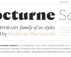 Nocturne Serif Font Free Download