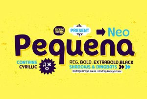 Pequena Neo Font Free Download