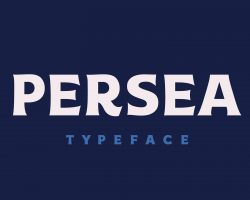 Persea Font Free Download