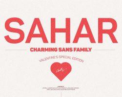 Sahar Sans Family (Early Bird Price) Font Free Download