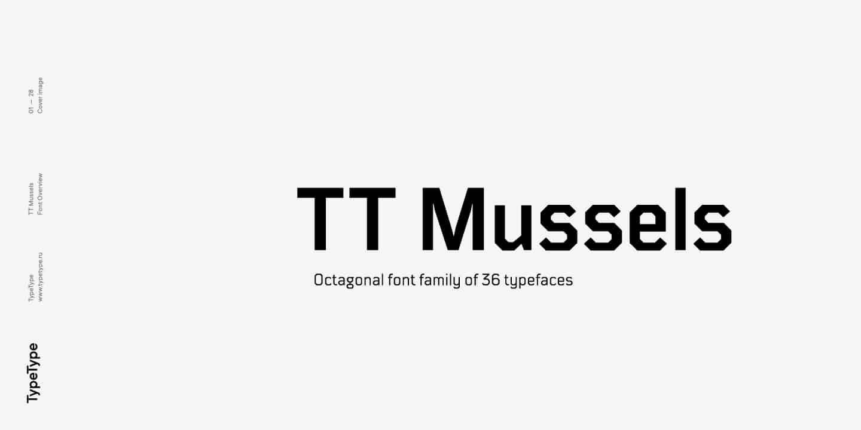 TT Mussels Font Free Download