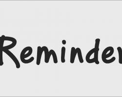 PF Reminder Pro Font Free Download