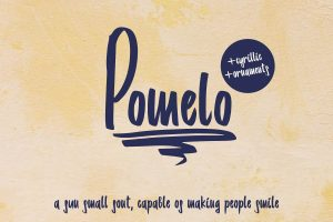 Pomelo Font Free Download