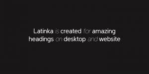 Latinka Font Free Download