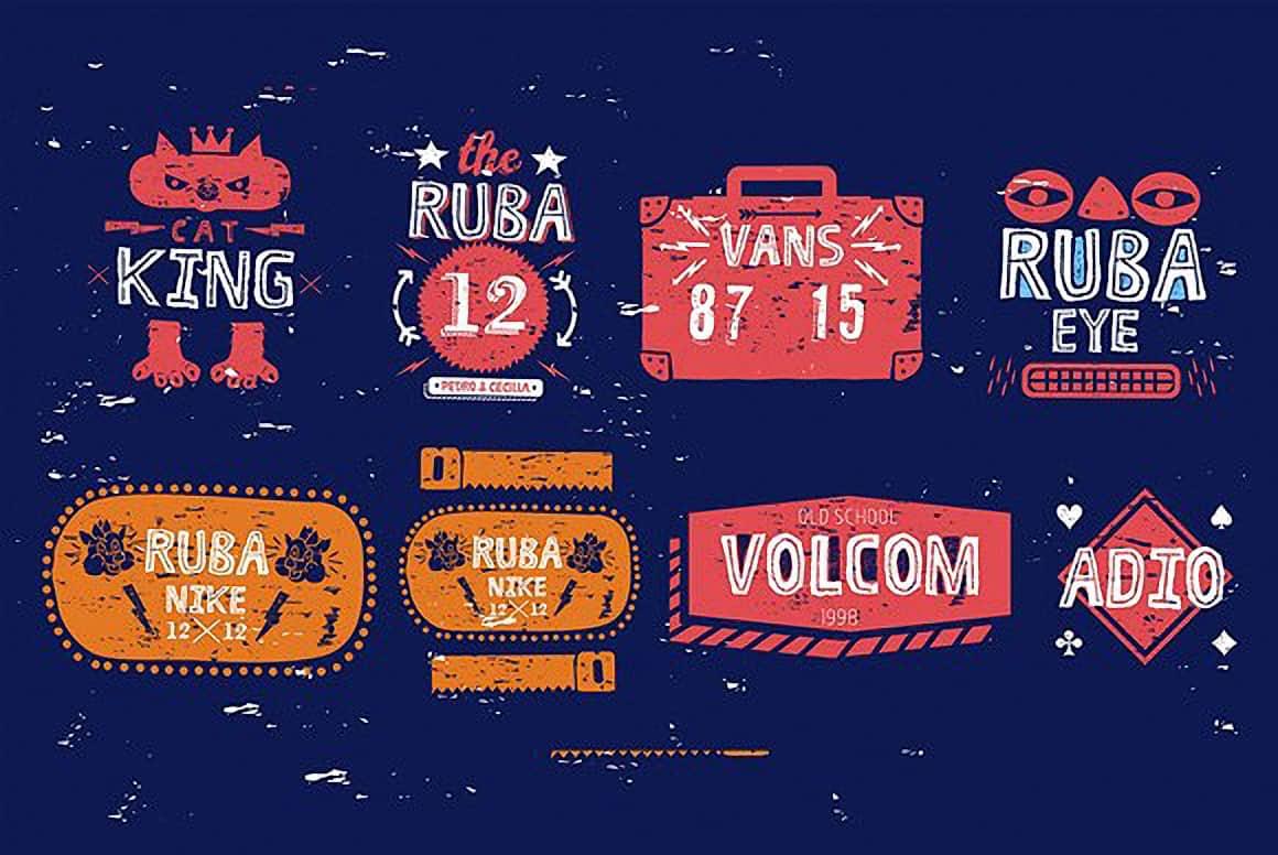 Ruba Style (+Greek) Font Free Download