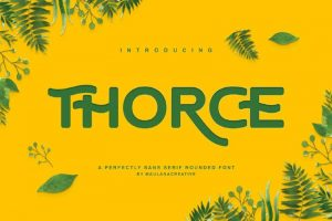 Thorce Font Free Download
