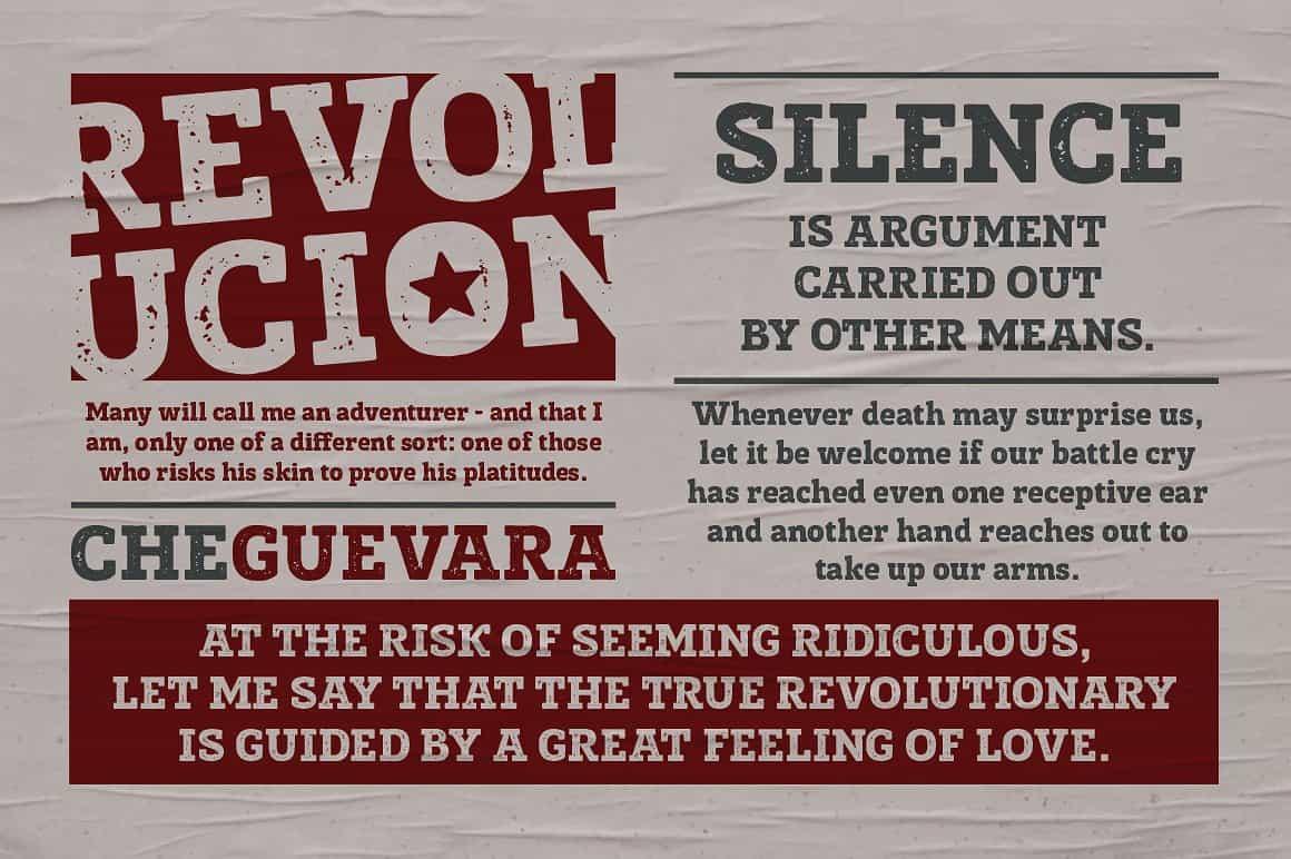 Posterizer KG Rough Font Free Download