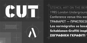 DIN Next Stencil Font Free Download