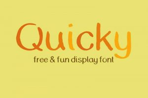 Quicky Font Free Download