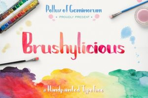 Brushylicious Font Free Download