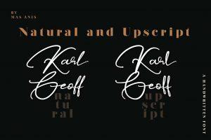 Karl Geoff Font Free Download
