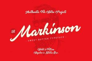 Markinson Font Free Download
