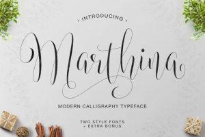 Marthinar Font Free Download