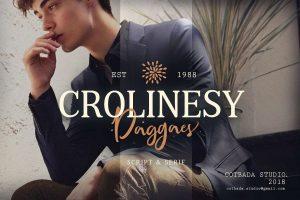 Crolinesy Daggaes Font Free Download