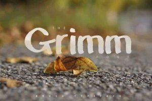 The grimm Font Free Download