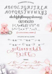 Kaiyila Script Font Free Download