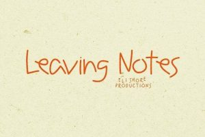 Leaving Notes Typeface Font Free Download