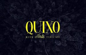 Quixo + Nestle Font Free Download