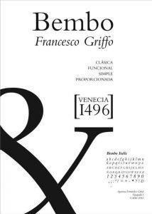 Bembo [1496 – Francesco Griffo] Font Free Download