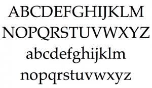 Palatino [1950 – Hermann Zapf] Font Free Download