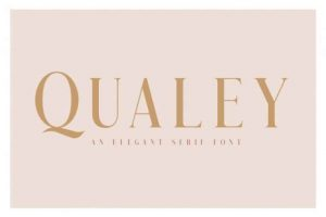 Qualey Font Free Download