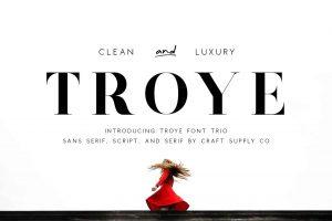 Troye Font Free Download