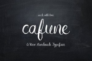Cafune Font Free Download