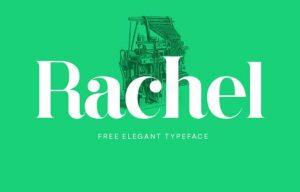 Rachel Font Free Download