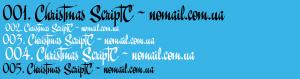 Christmas ScriptC Font Free Download