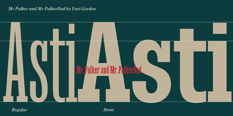 Mr Palker Dad Font Free Download