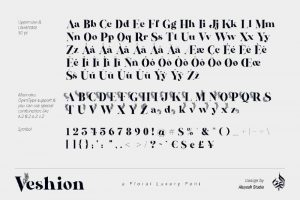 Veshion Font Free Download