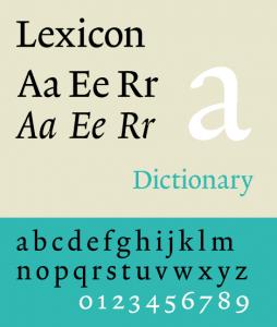 Lexicon PS [1992 – Bram De Does] Font Free Download