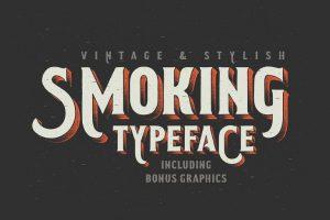 Smoking Typeface Font Free Download