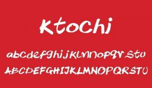 Ktochi Font Free Download