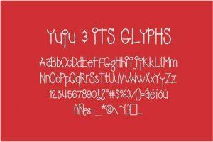 Yujufont Font Free Download
