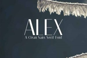 Aleх Font Free Download
