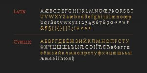 Hailgen Thin Font Free Download
