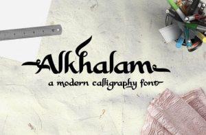 Alkhalam Font Free Download