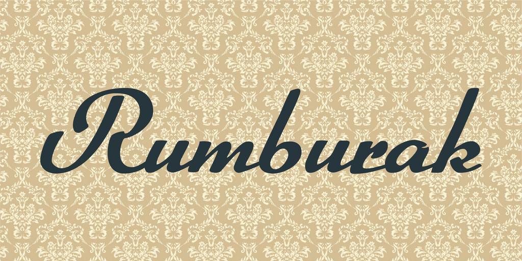 Rumburak Font Free Download