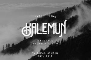 Kalemun Typeface Font Free Download