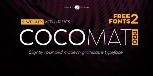 Cocomat Pro Font Free Download