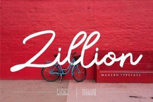 Zillion Font Free Download