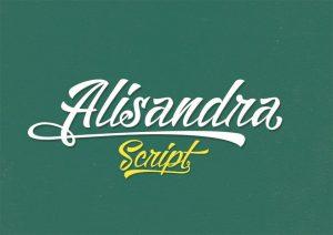 Alisandra Font Free Download