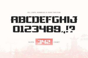 La Oriental Font Free Download