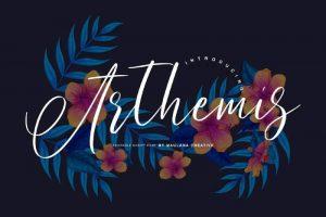 Arthemis Font Free Download