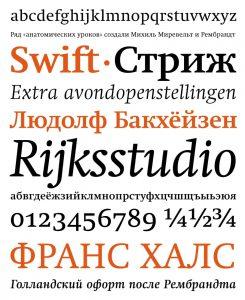 Swift [1987 – Gerald Unger] Font Free Download