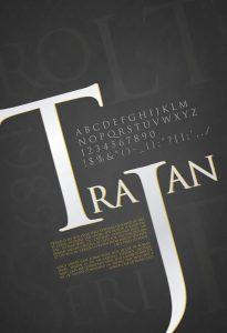 Trajan [1989 – Carol Twombly] Font Free Download