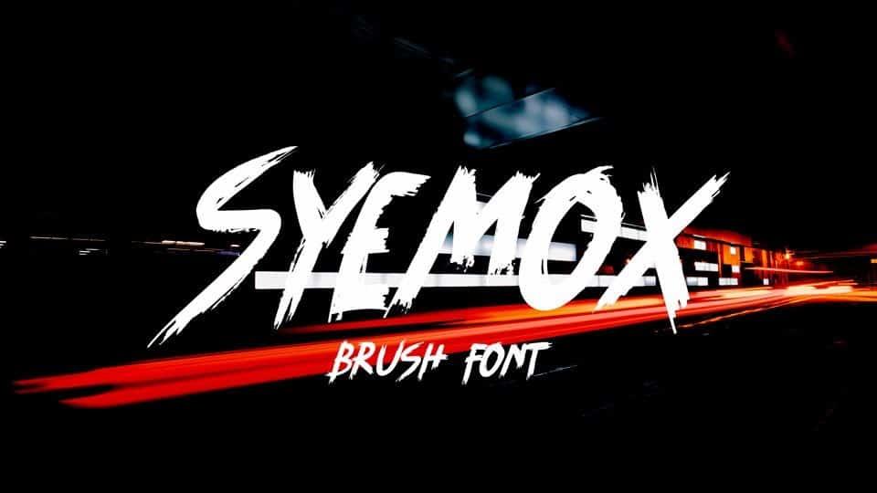Syemox Font Free Download