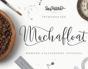 Mochafloat Script Font Free Download
